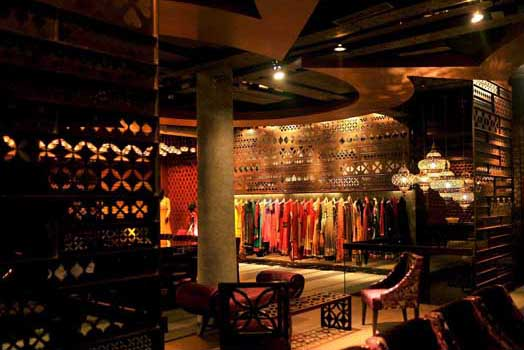 Tashya, a bridal boutique in Chandigarh by design firm Charged Voids, headed by Ar. Aman Aggarwal