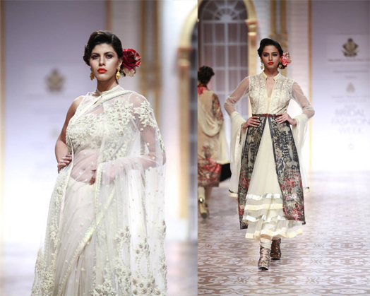 Held from Nov 29- Dec 4, 2013, one could see a royal bride, gothic bride, Awadhi bride, a free-spirited bride and more... sashay down the ramp as top fashion gurus like JJ Valaya, Tarun Tahiliani, Raghavendra Rathore, Shantanu and Nikhil, Falguni and Shane Peacock, Rohit Bal, Ashima Leena, Meera and Muzaffar Ali, Neeta Lulla, Jyotsana Tiwari, Gaurav Gupta and Pallavi Jaikishan showcased their interpretation of bridal couture that maketh the modern-day bride.
