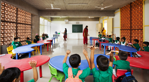DPS Kindergarten School by Khosla Associates, Bengaluru, India.