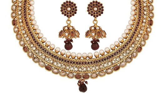 Aadhya brings you a wide range of traditional imitation jewellery to suit every occasion...