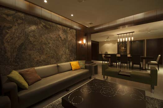 2,400 sq ft ,a posh residence in Kolkata, India designed by Ar.Rupande Shah