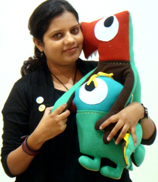 Toy designer Suhasini Paul