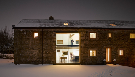 Cat Hill Barn in South Yorkshire by Snook Architects.