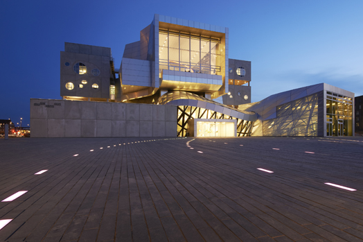 House of Music in Aalborg, Denmark by Viennese architectural studio, Coop Himmelb(l)au.