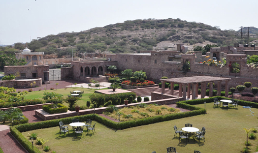 Water habitat retreat, Bijolai Palace, Jodhpur.