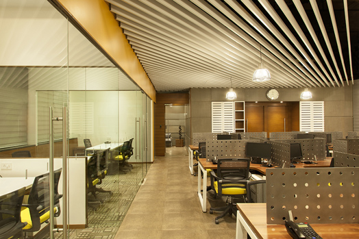 MRL Group office in Mumbai by O & A Architects