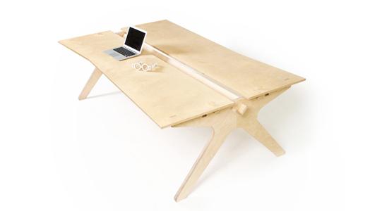 """Lean Desk"" by designer Joni Steiner and Nick Ierodiaconou."