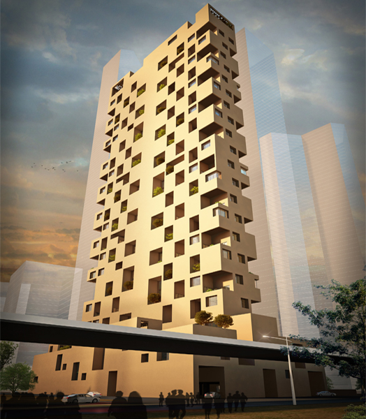Sky Courts, Mumbai by Architect Sanjay Puri