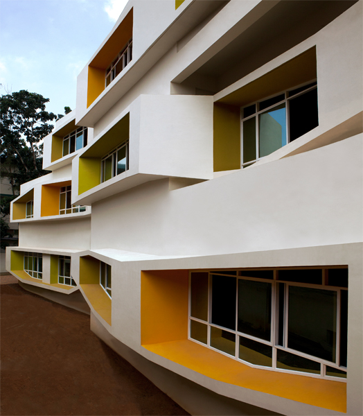 Stacked Tectonics,JDT Primary School designed by Collaborative Architecture