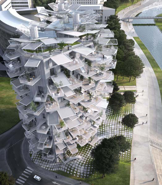 "The ""White Tree"" project at Montpellier, France."