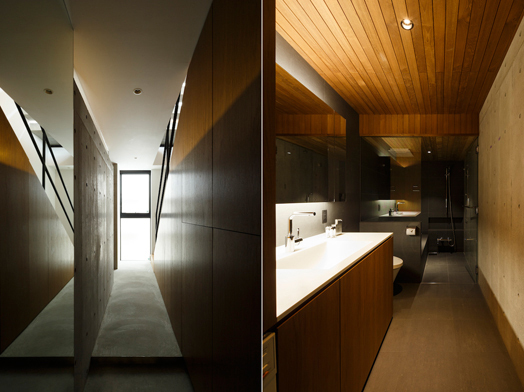 Frame house, Tokyo by Apollo Architects