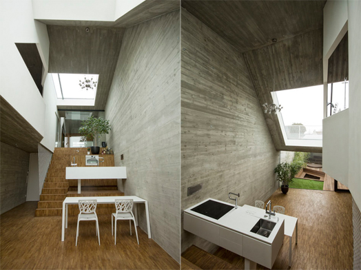 housing project CJ5 by Caramel Architects