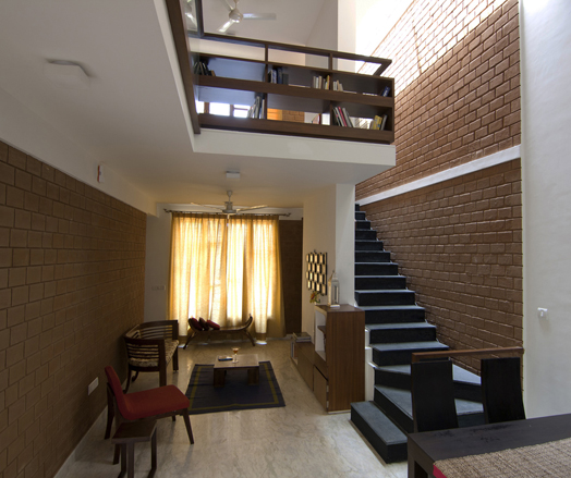 India art n design inditerrain stack house for Architects in bangalore