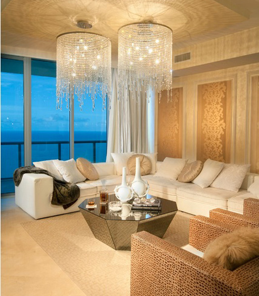 Luxury in residential interiors