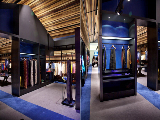 Neel Sutra multi-designer Indian fashion store designed by Architecture Discipline