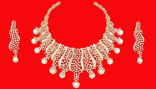 Wedding jewellery from Anmol