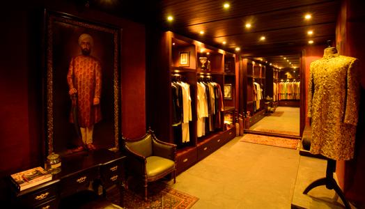 Sabyasachi flagship store at Kala Ghoda in Mumbai