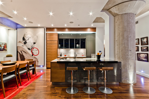 India Art n Design features Montreal Loft by Act Design