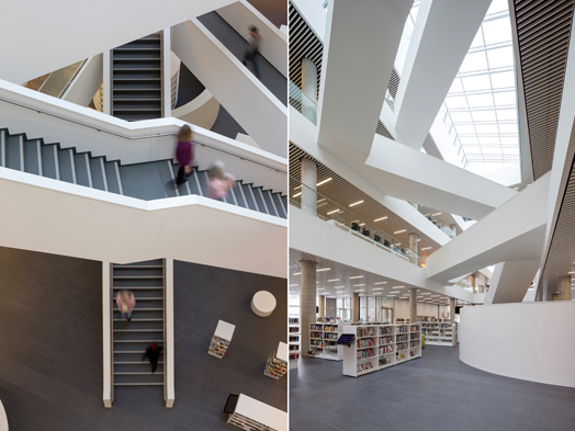India Art n Design features new Halifax Central Library, designed by Danish schmidt hammer lassen architects and Canadian Fowler Bauld & Mitchell