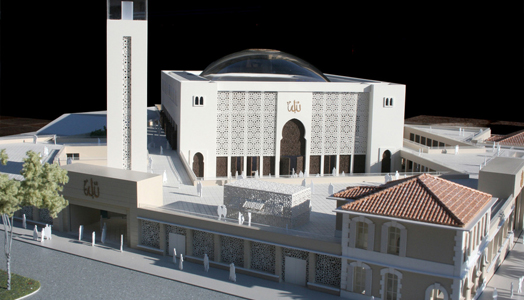 India Art n Design features Bureau Architecture Méditerranée's design of the Marseille Grand Mosque