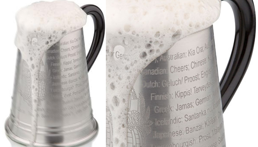 India Art n Design features Beer Mugs from Arttd'inox