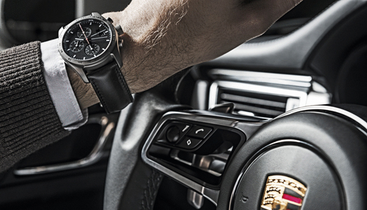 India Art n Design features Chronograph Titanium Limited Edition by Porsche Design