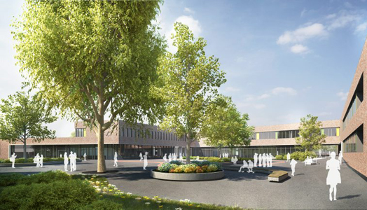 India Art n Design features Gyula Trebitsch school, Hamburg by gmp architects