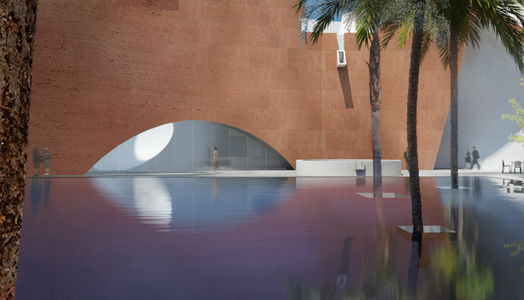 India Art n Design features winning entry of North Wing extension of Mumbai city Museum by Steven Holl Architects & _opolis architects