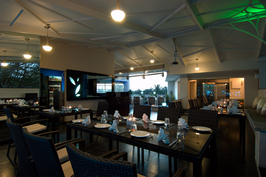 S.signature and Orchard restaurants located in Bengaluru, designed by Interface Architecture