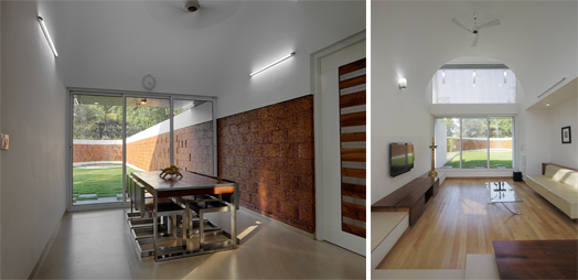 "IIA KC Award winner ""The Running Wall"" House by Lijo.Reny.architects."