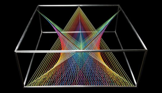 Prism Table by designer Maurie Novak of MN Design, Australia