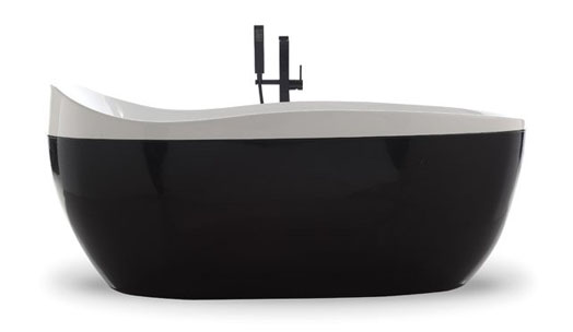 "Bravat India, the world's leading and trendsetter in ""affordable designer luxury in bathroom solutions"" presents the 'Wave' bath tub."