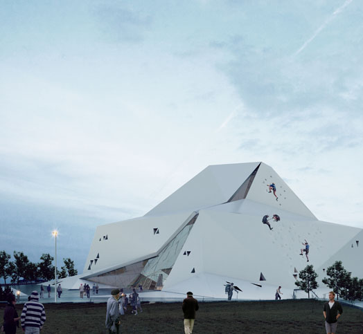 Rock Climbing Hall, Tehran by New Wave Architecture
