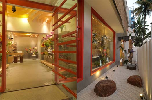'Flower Box' by designer-partners Farah Ahmed and Dhaval Shellugar of FADD Studio, Bangalore