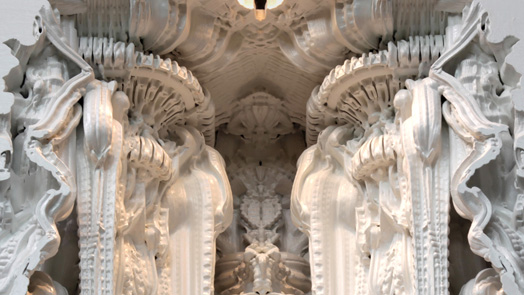 Printing Architecture - Digital Grotesque by Zurich-based architect and programmer, Michael Hansmeyer