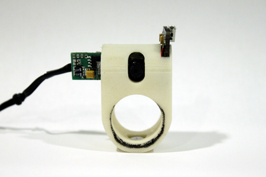 The Finger Reader by students of MIT Media Lab