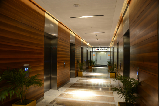 HT Media Mumbai office in Lower Parel designed by Ar. Narayan