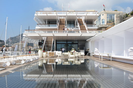 new Yatch Club building by Foster+Partners in Monaco