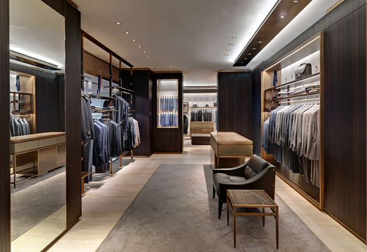 Brioni Flagship, Frankfurt by Park Associati Architects