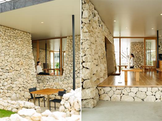 Itoman Gyomin Shokudo by Kentaro Design Workshop