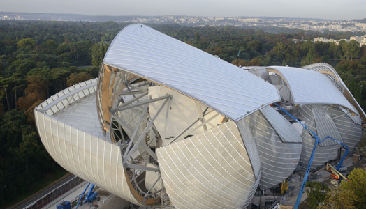 Foundation Louis Vuitton designed by Ar. Frank Gehry