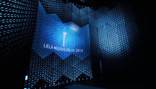 Great Music Awards scenography by Ar. Didzis Jaunzems