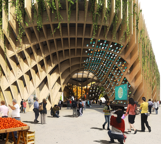 French Pavilion by XTU Architects at the Milan Expo 2015