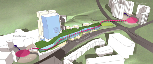 New City University of Hong Kong at Kowloon by Ar. Ronald Lu & Partners.