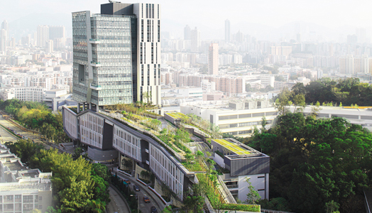 New City University of Hong Kong at Kowloon by Ar. Ronald Lu & Partners.