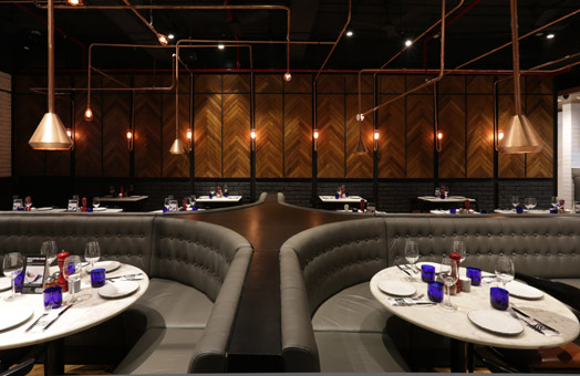 Pizza Express Mumbai designed by Ar. Pronit Nath
