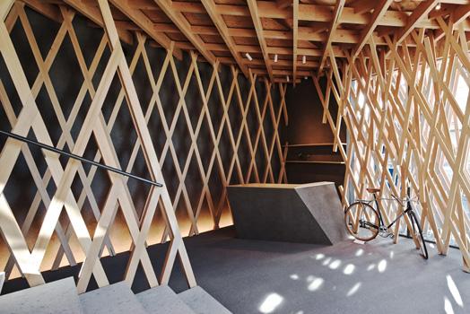 Sunny Hills' Dessert Shop, Tokyo by Ar. Kengo Kuma & Associates