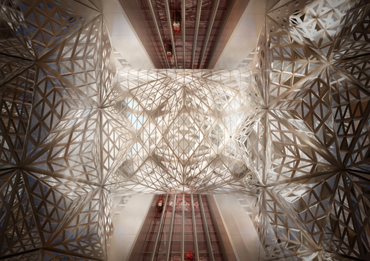 Zaha Hadid Architects' design for the City of Dreams Tower Hotel in Macau