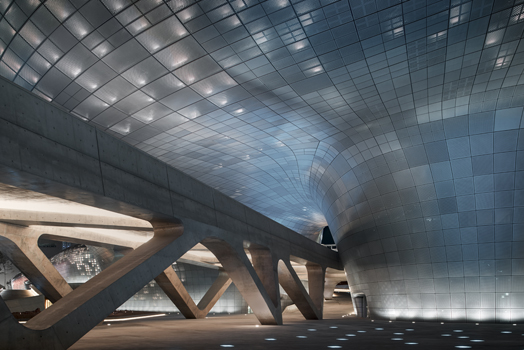 Dongdaemun Design Plaza by Zaha Hadid Architects