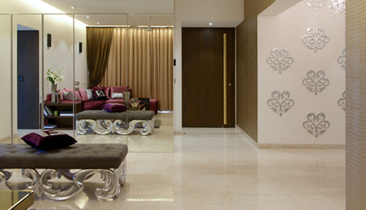 luxury residence designed by The Ashleys' in Mumbai